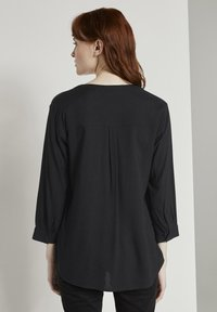 TOM TAILOR - Blouse - black - 2