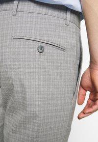 Limehaus - SEMI PLAIN - Kostymbyxor - grey - 5