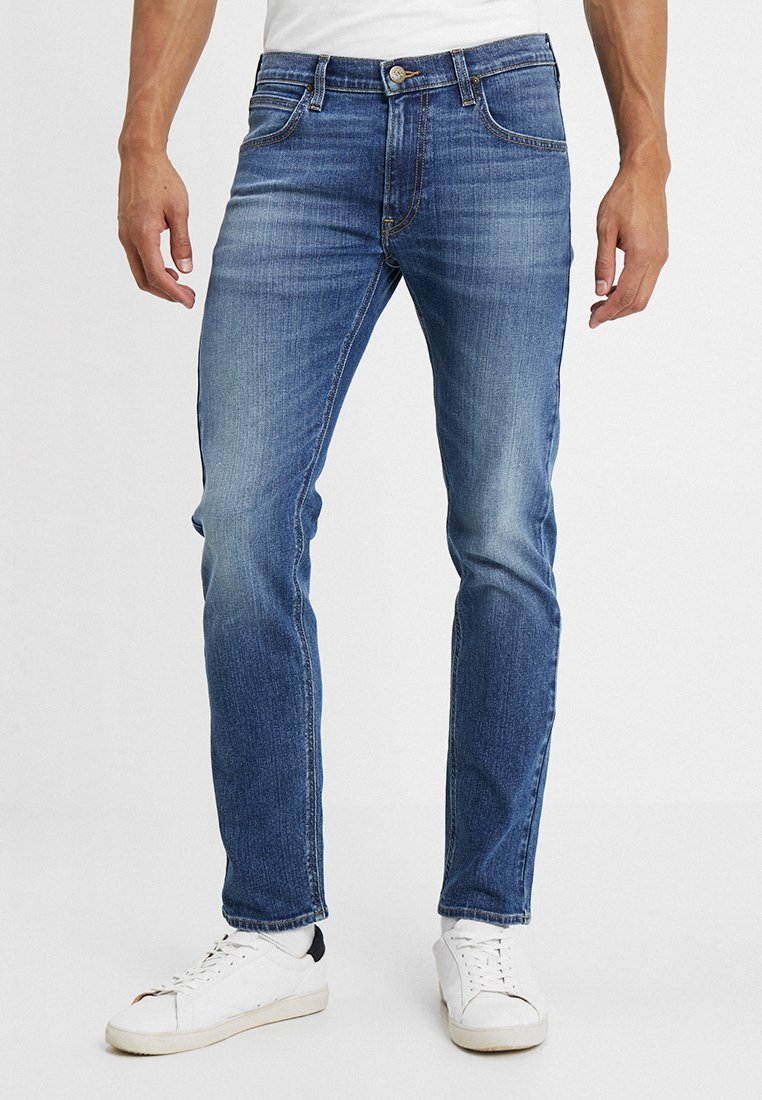 Lee - DAREN ZIP FLY - Jeans a sigaretta - broken blue
