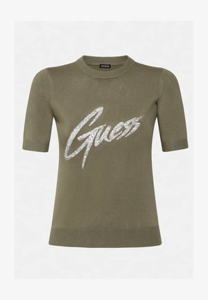 LOGO VOORKANT - Print T-shirt - grün