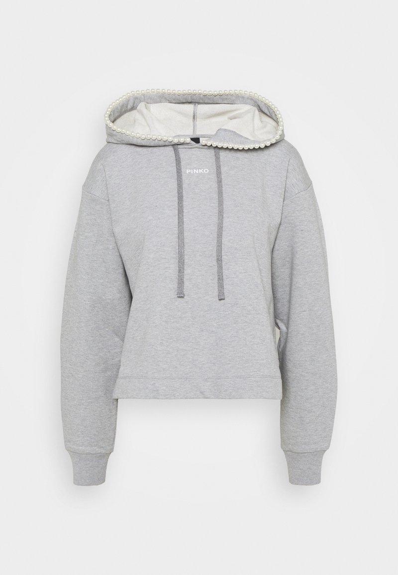 Pinko - ACTORS FELPA - Sweatshirt - grigio pioggerella