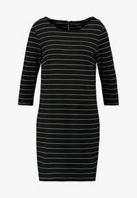 Vila - VITINNY - Day dress - black/snow white - 4