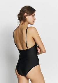 ONLY - ONLVENICE SWIMSUIT - Plavky - black - 3