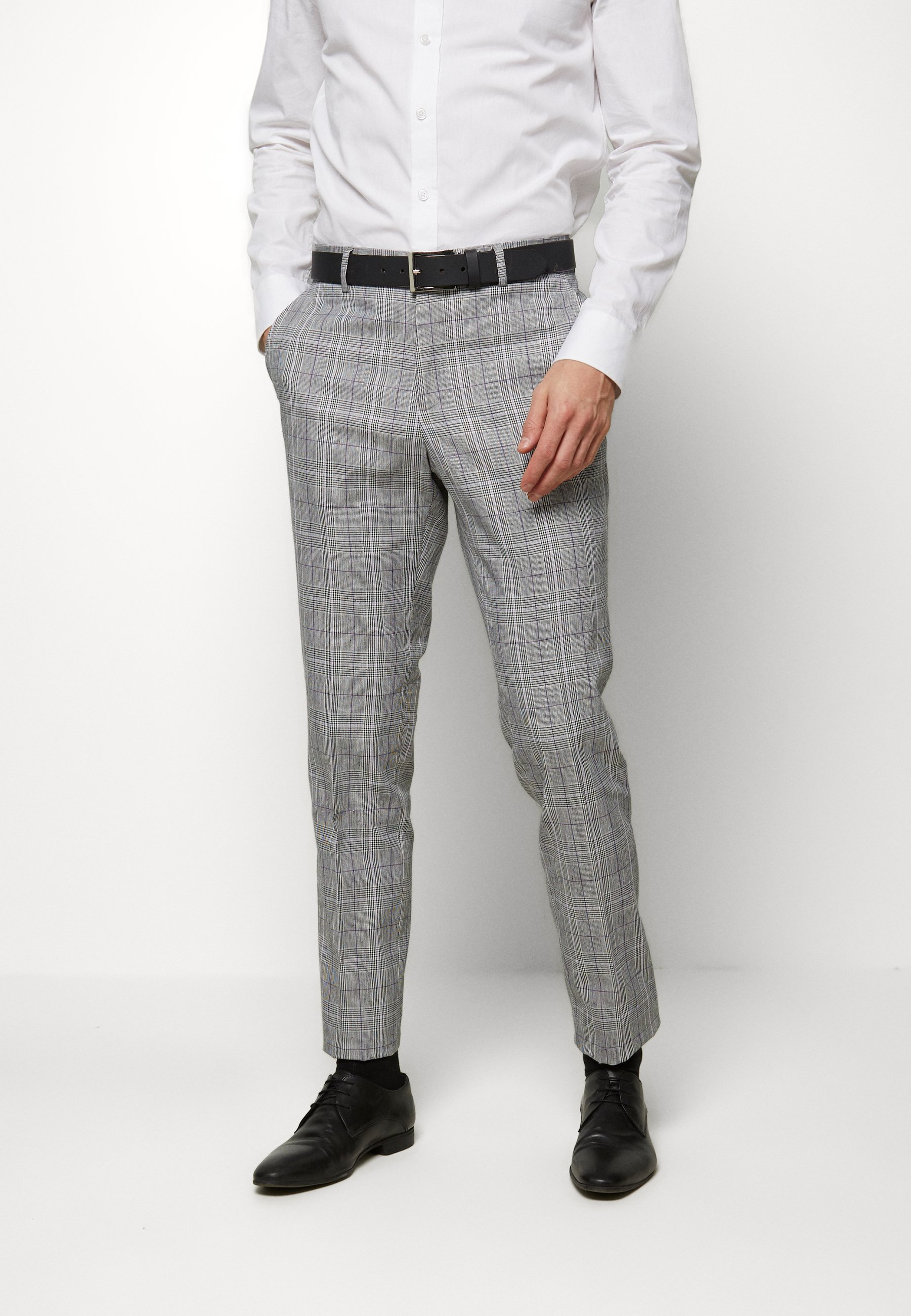 Lindbergh CHECKED SUIT - Costume - grey check