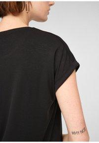 Q/S designed by - Basic T-shirt - black - 3