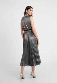 Three Floor - MERCURY DRESS - Vestido de cóctel - pewter metallic - 2