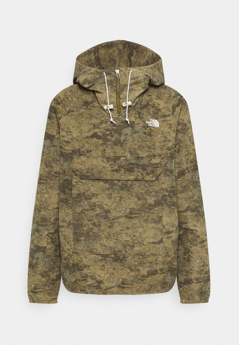 The North Face - PRINTED CLASS FANORAK - Outdoor jacket - olive