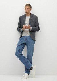 Mango - LONDON - Blazer jacket - gris - 1