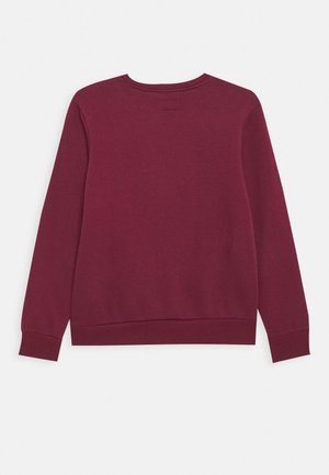 CHUCK PATCH CREW - Mikina - dark burgundy