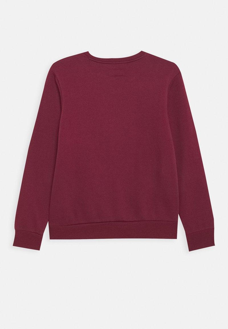 Converse - CHUCK PATCH CREW - Sweater - dark burgundy