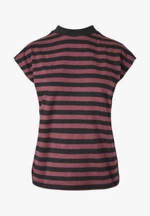 Y/D STRIPE - T-shirt basic - cherry/blk