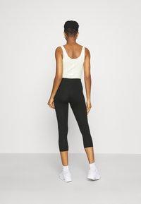 Gina Tricot - BASIC 2 PACK - Leggings - black - 2