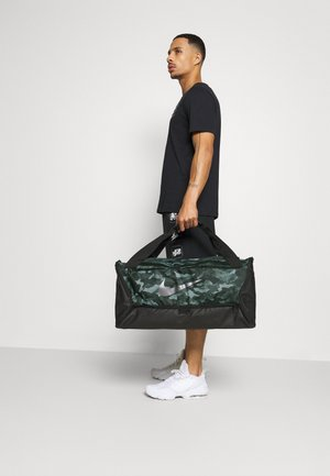 DUFF - Sports bag - light smoke grey/black/cool grey