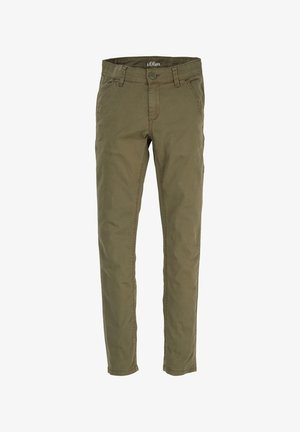 Jeans Straight Leg - khaki