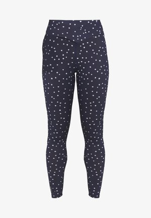 FRANCESCA TRAINING - Tights - maritime blue/white