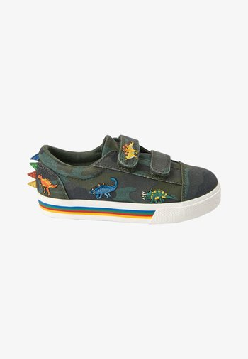Touch-strap shoes - multi-coloured
