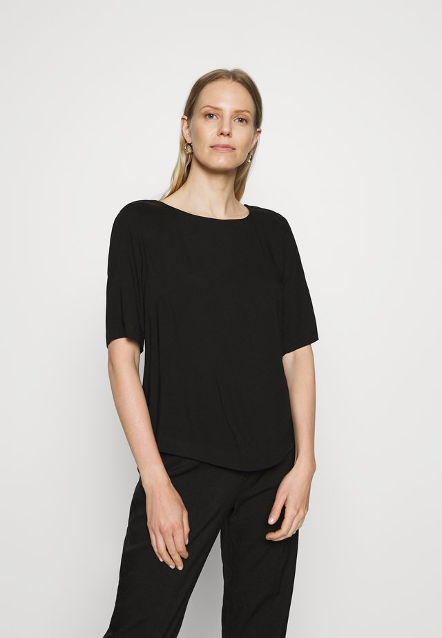 BLOUSE - Bluzka - deep black