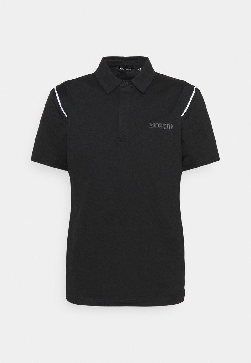 Antony Morato - SLIM FIT LOGO PRINT - Polo shirt - nero