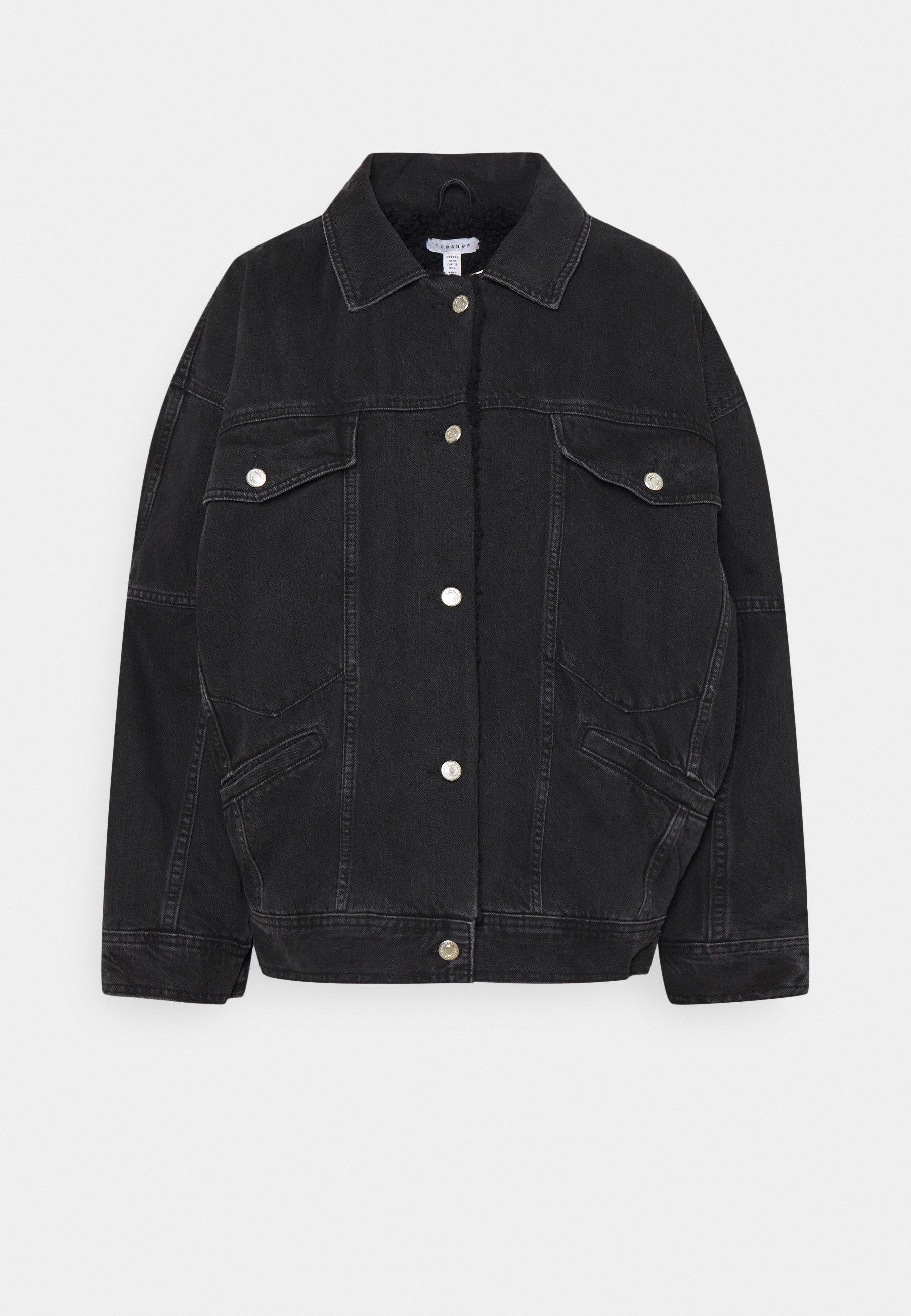 Women BORD DAD JACKET - Denim jacket