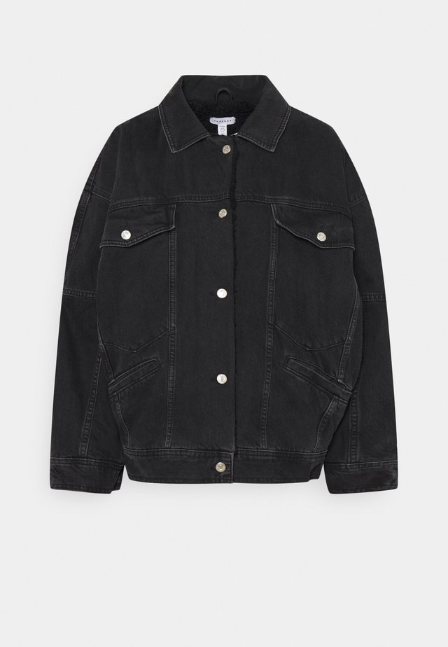 BORD DAD JACKET - Cowboyjakker - washed black