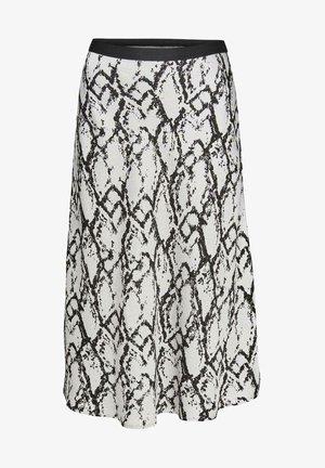 RUMI - A-line skirt - grau