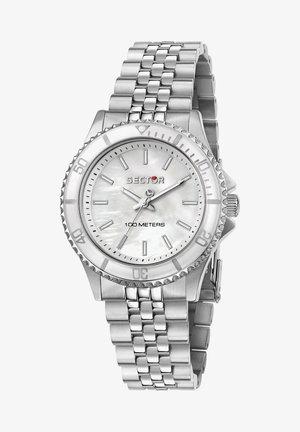 Horloge - silber/weiß