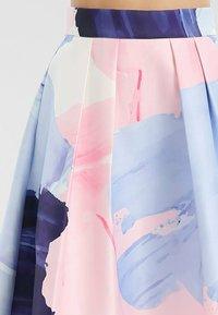 Apart - Jupe trapèze - nachtblau-multicolor - 4