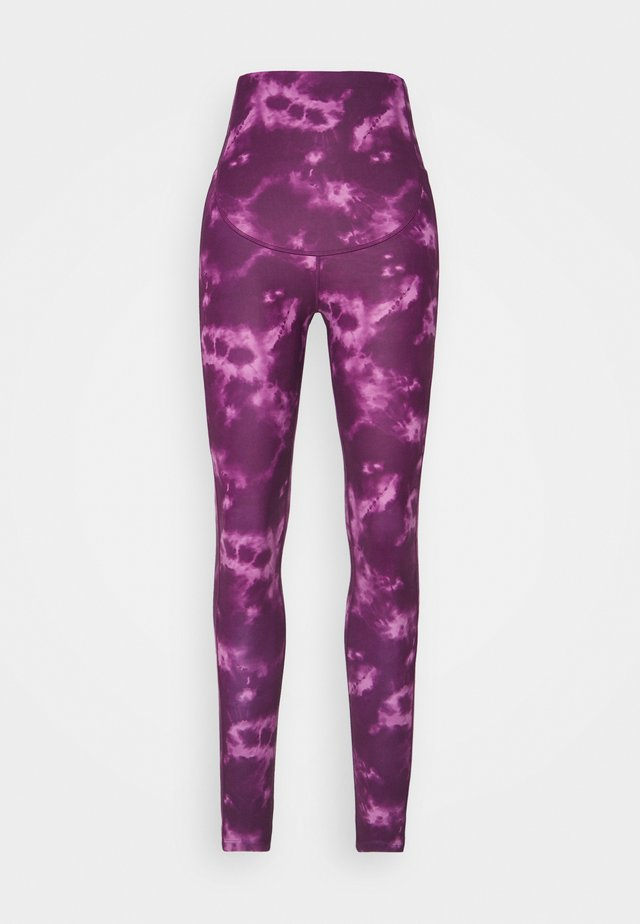 MATERNITY LEGGING - Medias - purple
