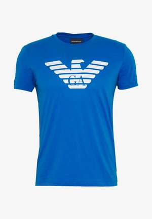 T-shirt print - bluette