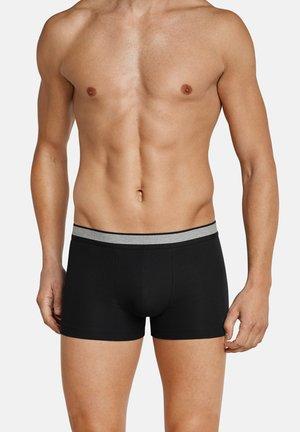 2ER PACK - Pants - schwarz