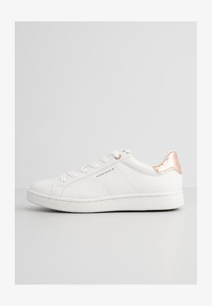 Sneakers laag - white-rose gold