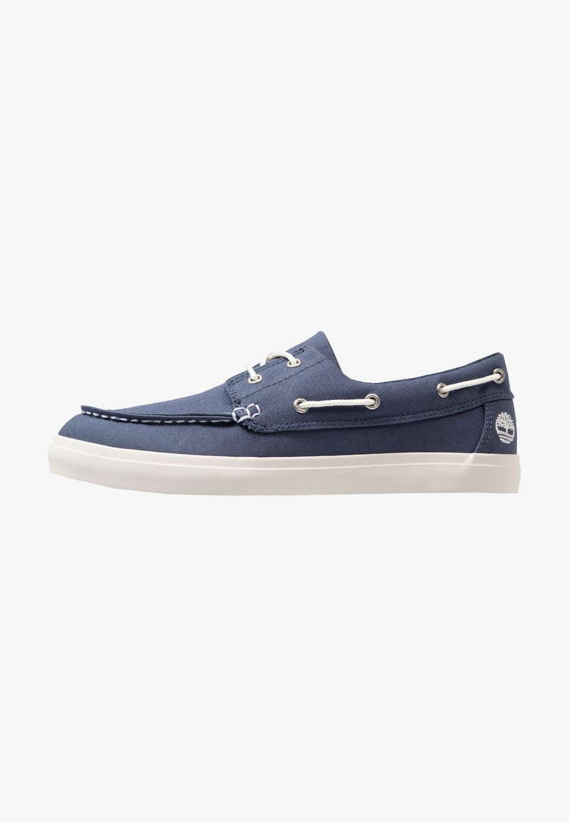 Timberland - UNION WHARF 2 EYE - Boat shoes - dark blue