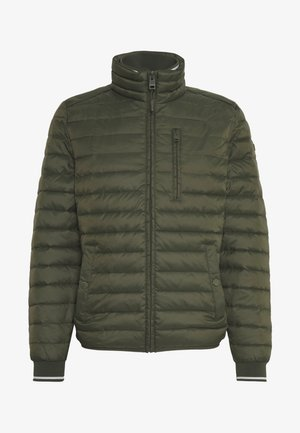 THINS - Lehká bunda - khaki green