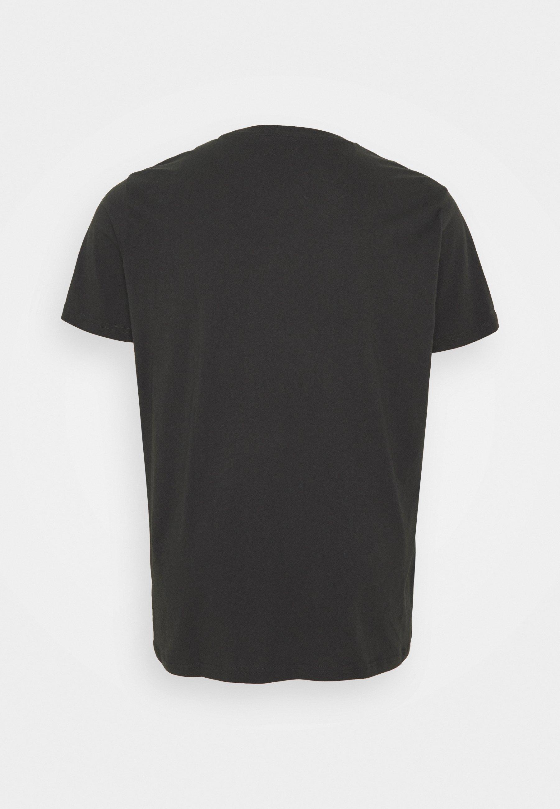Men PATCH LOGO TEE - Basic T-shirt