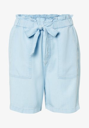 Denim shorts - tencel bleach wash