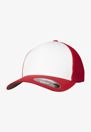 Cap - red and white