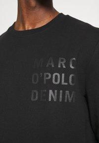 Marc O'Polo DENIM - LOGO PRINT - Sweatshirt - black - 4