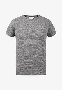 Solid - Basic T-shirt - dark grey melange - 4