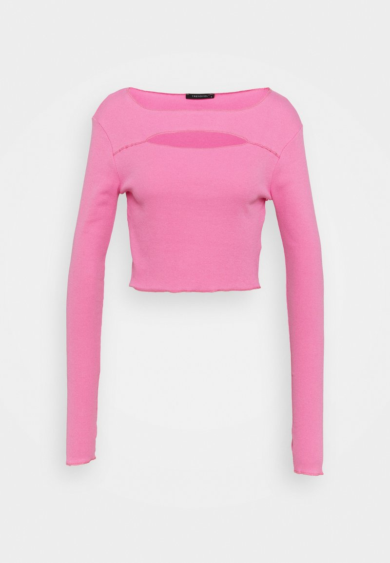Trendyol - Long sleeved top - pink