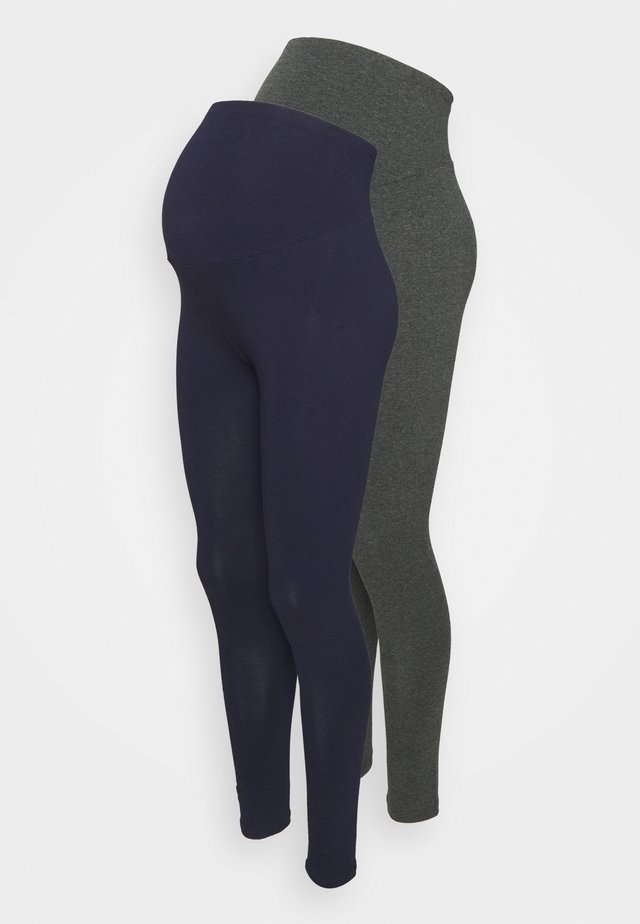 2 PACK - Leggings - navy