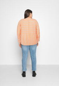 MY TRUE ME TOM TAILOR - Button-down blouse - ecru red - 2