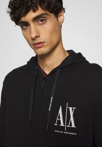 Armani Exchange - Zip-up hoodie - black - 6