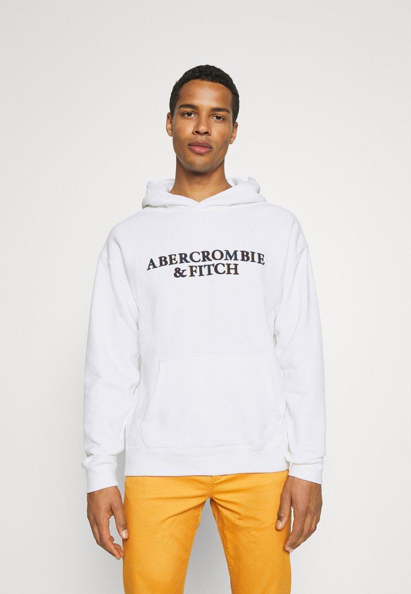 Abercrombie & Fitch - Sweatshirt - white