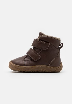 MINNI WINTER SHOES SLIM FIT UNISEX - Baby shoes - dark brown
