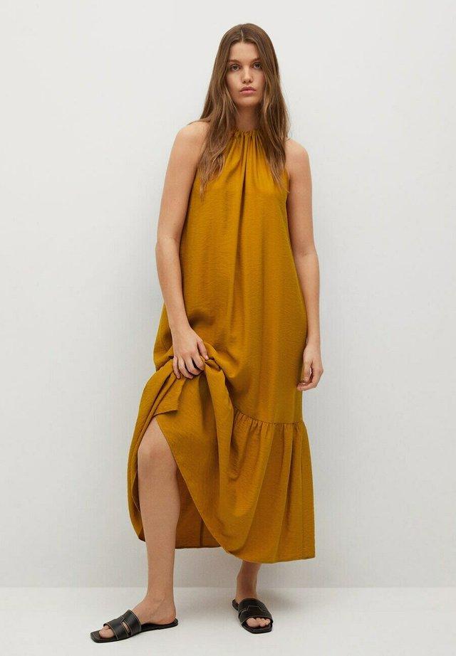 BILBAO I - Korte jurk - rotbraun