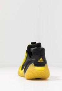 adidas Performance - 4UTURE RNR - Obuwie do biegania treningowe - core black/shock yellow - 4