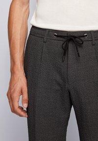 BOSS - BARDON - Trousers - dark grey - 3