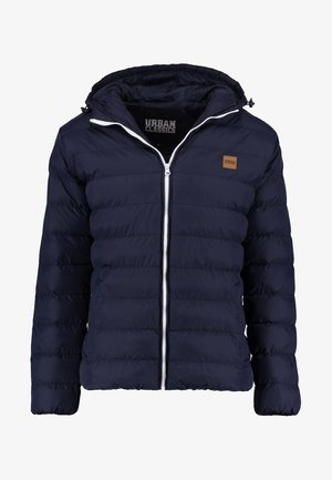 BASIC BUBBLE JACKET - Chaqueta de invierno - navy/white/navy