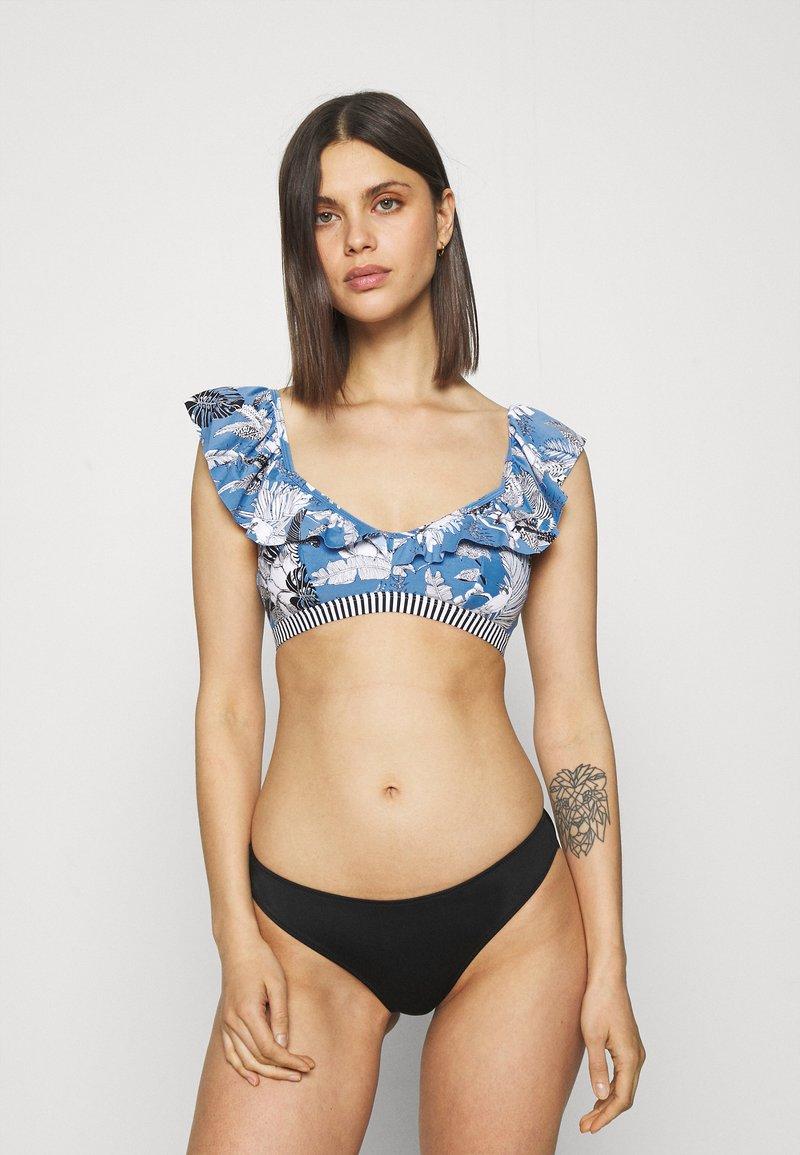 Esprit - TULUM BEACH - Bikini top - blue