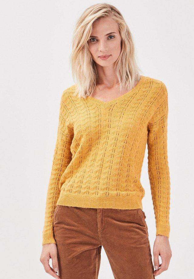 LANGARM - Maglione - jaune